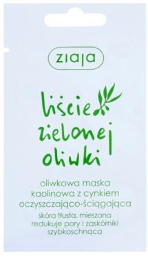 Ziaja Natural Olive kaolínová pleťová maska