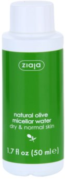 Ziaja Natural Olive água micelar para pele normal e seca