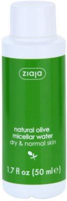 Ziaja Natural Olive Mizellarwasser für normale und trockene Haut