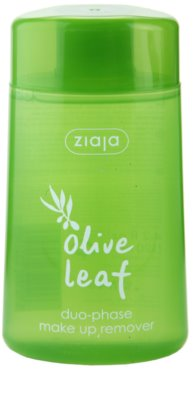Ziaja Olive Leaf demachiant in doua faze pentru produse rezistente la apa.