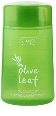 Ziaja Olive Leaf Duo - Removedor de maquilhagem à prova d'água.