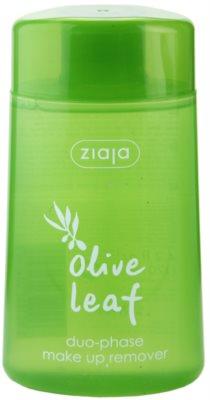 Ziaja Olive Leaf dvokomponentni odstranjevalec vodoodpornih ličil