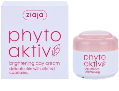 Ziaja Phyto Aktiv освітлюючий денний крем для чутливої шкіри схильної до почервонінь 1
