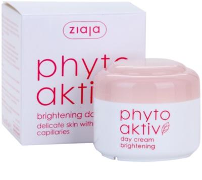 Ziaja Phyto Aktiv creme de dia iluminador para a pele sensível com tendência a aparecer com vermelhidão 2