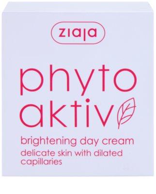 Ziaja Phyto Aktiv creme de dia iluminador para a pele sensível com tendência a aparecer com vermelhidão 4
