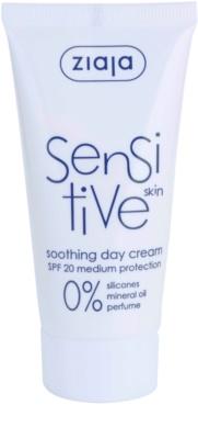 Ziaja Sensitive nyugtató krém száraz és viszkető bőrre
