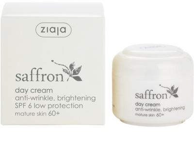 Ziaja Saffron aufhellende Anti-Falten Creme 60+ 3