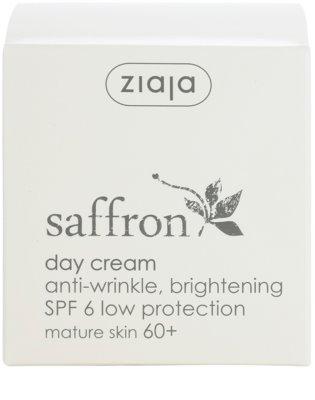 Ziaja Saffron aufhellende Anti-Falten Creme 60+ 4