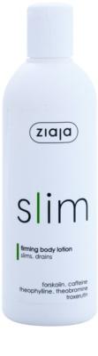 Ziaja Slim leite corporal de emagrecimento