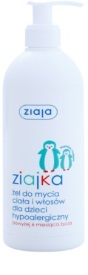 Ziaja Ziajka sprchový gel na tělo a vlasy 2 v 1