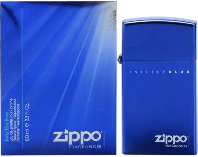 Zippo Fragrances Into The Blue Eau de Toilette für Herren  Nachfüllbar