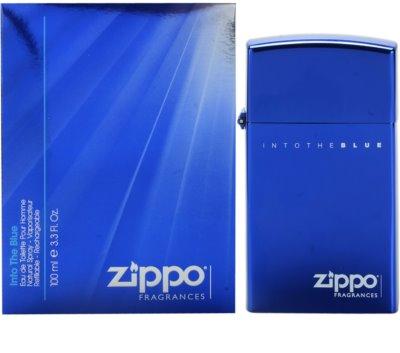 Zippo Fragrances Into The Blue toaletna voda za moške  polnilni