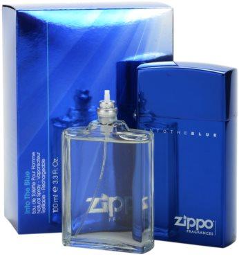 Zippo Fragrances Into The Blue Eau de Toilette für Herren  Nachfüllbar 1