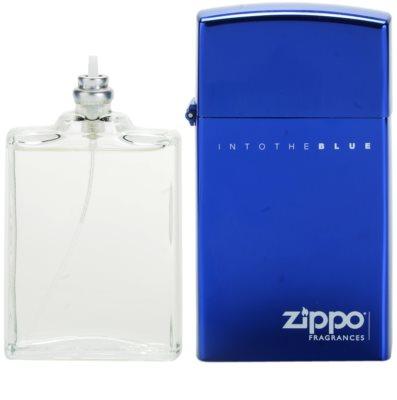 Zippo Fragrances Into The Blue Eau de Toilette für Herren  Nachfüllbar 2