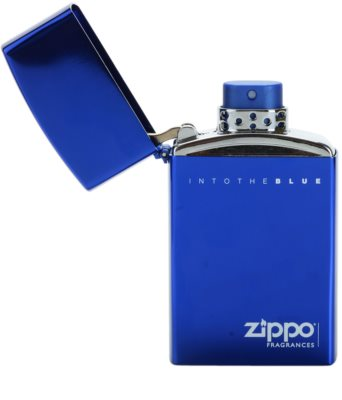 Zippo Fragrances Into The Blue Eau de Toilette für Herren  Nachfüllbar 4