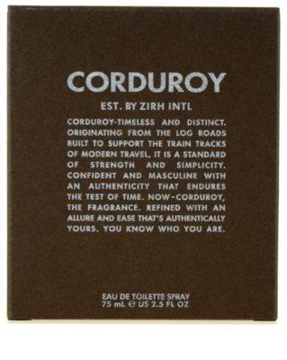 Zirh Corduroy toaletní voda pro muže 3