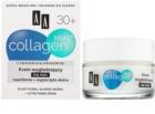 AA Cosmetics Collagen HIAL+ crema de noapte pentru netezire 30+