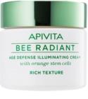 Apivita Bee Radiant rozjasňujúci krém proti príznakom starnutia