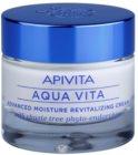 Apivita Aqua Vita intenzívny hydratačný a revitalizačný krém pre mastnú a zmiešanú pleť