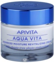 Apivita Aqua Vita інтенсивний зволожуючий та відновлюючий крем для комбінованої та жирної шкіри