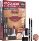 BelláPierre Lip Contour & Highlighting Kit kosmetická sada I.