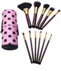 BH Cosmetics Pink-A-Dot набір щіточок для макіяжу