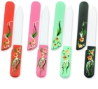 Bohemia Crystal Hard Painted Nail File lime à ongles