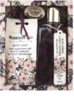 Bohemia Gifts & Cosmetics Magnesium Salt Black Currant & Violet Blossoms zestaw kosmetyków I.