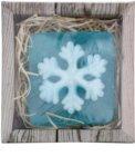 Bohemia Gifts & Cosmetics Snowflake sãpun lucrat manual cu glicerina