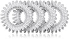 BrushArt Hair Rings Natural Goma para cabello, 4 piezas