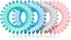 BrushArt Hair Rings Colour Haargummi 4 Stück