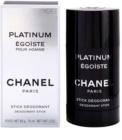 Chanel Égoïste Platinum deostick pre mužov 75 ml