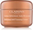 Clarins Sun Self-Tanners lotiune autobronzanta pentru corp si fata cu unt de cacao
