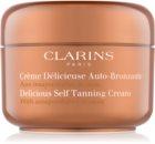 Clarins Sun Self-Tanners крем-автозасмага для тіла та обличчя з маслом какао