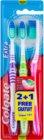Colgate Extra Clean zubní kartáčky medium 3 ks