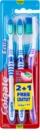 Colgate Extra Clean cepillo de dientes medio 3 uds