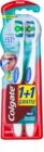 Colgate 360° Whole Mouth Clean brosses à dents medium 2 pcs