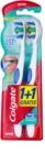 Colgate 360°  Whole Mouth Clean cepillo de dientes medio 2 uds