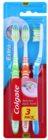 Colgate Extra Clean escovas de dentes média 3 pçs