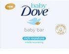 Dove Baby Rich Moisture krémová tableta na umývanie