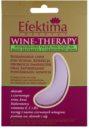 Efektima Institut Wine-Therapy хидрогелова маска за зоната около очите против бръчки и тъмни кръгове