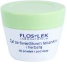 FlosLek Laboratorium Eye Care gél na očné okolie s očiankou a zeleným čajom