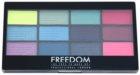 Freedom Pro 12 Chasing Rainbows paletka očných tieňov s aplikátorom