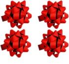 Giftino Wrapping darilna lepilna zvezda velika mat 4 kos