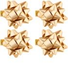 Giftino Wrapping darilna lepilna zvezda majhna sijaj 4 kos