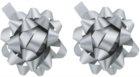 Giftino Wrapping darilni okrasek zvezda srebrna 2 kos