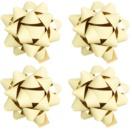 Giftino Wrapping darilna lepilna zvezda majhna mat 4 kos
