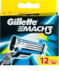 Gillette Mach 3 Spare Blades Replacement Blades
