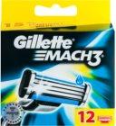 Gillette Mach 3 Spare Blades rezerva Lama