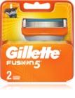 Gillette Fusion náhradné žiletky 2 ks